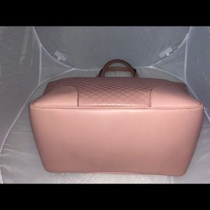 Gucci Microguccissima Light Pink Soft Leather Bag